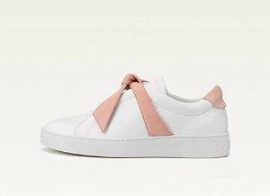 Alexandre Birman - Clarita Nappa Sneaker White & Pink