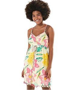 Farm - Vestido Pompons