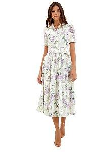 LE LIS BLANC - Vestido laise floral