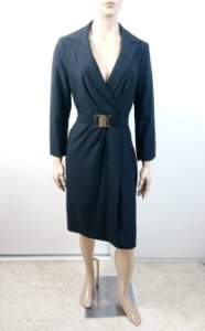 Folic - Vestido tecido manga longa