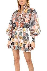 Zimmermann - Ninety-Six Patch Mini Dress - Spring 2019