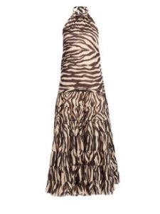 Zimmermann - midi zebra dress