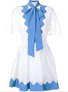 Valentino - Vestido detalhes ondulados