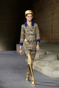 Chanel - Casaco Tweed azul - Métiers d'Art Paris-New York 2018/19