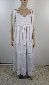 Chloé -  Vestido longo rendas