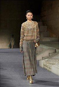 Chanel - Vestido longo / Nova York Pré Fall 2019
