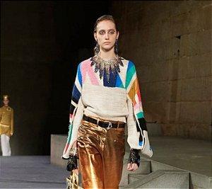 Chanel - Pullover em cahsmere / Métiers d'Art Paris-New York 2018/19