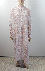 Christian Dior - Vestido estampa / Paris, Resort 2019
