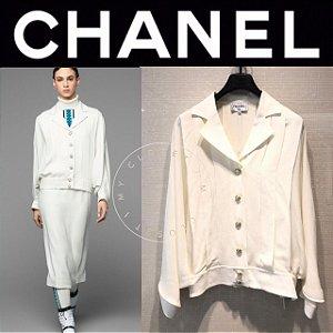 Chanel - Camisa em seda , SS 2019/20