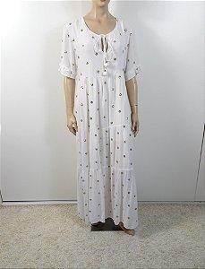 Mariana Penteado - Vestido longo indiano