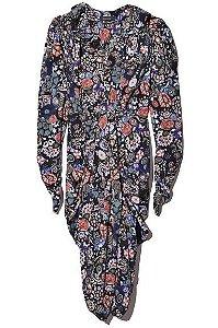 Isabel Marant -  Vestido chemise com estampa floral