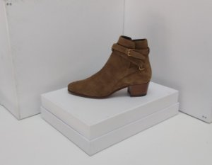 Yves Saint Laurent - Ankle boot caramelo