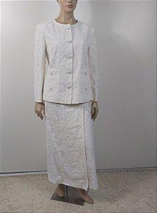 Chanel - Conjunto Off white