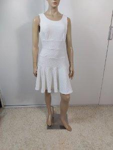 Double Zero - Vestido off white