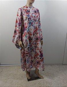 Chaouiche - Vestido longo em seda