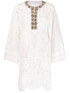 Dolce Gabbana - Kaftan com aplicações