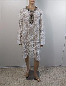 Dolce Gabbana - Vestido renda