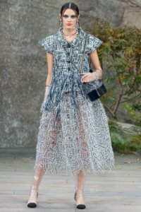Chanel -  Midi Skirt / Spring 2018