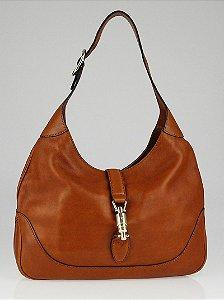 Gucci - Jackie cognac lather bag