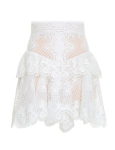 Zimmermann -  Glassy Wave Flip skirt  (nova coleção)