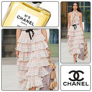 Chanel -  Midi Skirt / Cruise 2020
