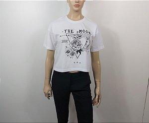 Stradivarius - Camiseta Cropped