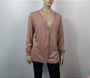 Triya - Cardigan trico Rose