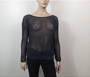 Egrey - Blusa Tela tricot preta