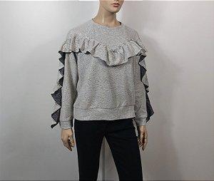 Bianza - Blusa Moleton