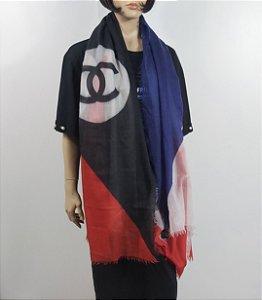 Chanel - Lenço em cashmere