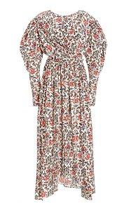 Isabel Marant - Vestido Estampa seda