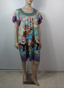 Shivani-Vestido estampa