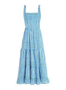 Le Lis Blanc - Vestido listras azul (nova coleção)
