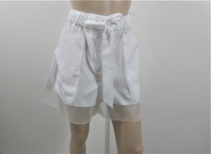 Chanel - Shorts branco coco beach 2020