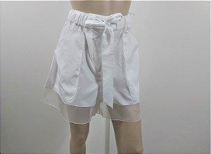 Chanel - Shorts branco coco beach 2020