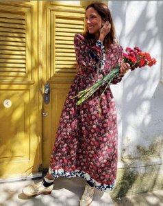 Isabela Capeto - Vestido estampa