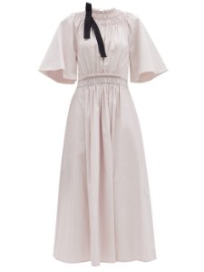 Roksanda - Vestido algodão