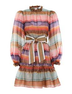 Zimmermann - Vestido curto arco-iris