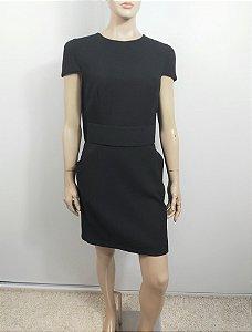 Alexander McQueen - Vestido curto capa