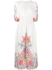 Zimmermann - Linen floral dress