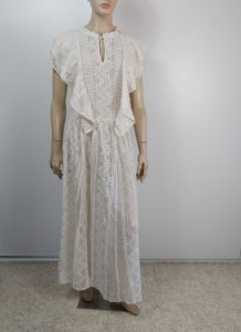 Christian Dior - Vestido Longo renda / Ss20