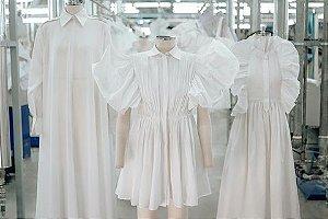 Valentino Garavani - Le Blanc -  Vestido longo