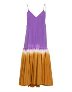 Sea New York - Vestido midi tie dye