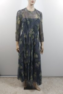 Christian Dior - Long tule floral dress
