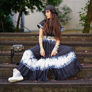 Christian Dior - Saia longa Tie Die Ss 2020/21