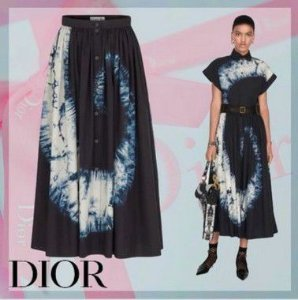 Christian Dior - Saia longa Tie Die-  Fall / Winter 2020