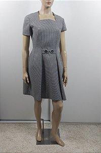 Christian Dior - Vestido xadrez Lã