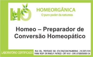 Homeo – Preparador de Conversão Homeopático