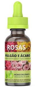 ROSAS - PULGÃO E ÁCARO - Auxiliar de controle na infestação por pulgões e ácaros nas roseiras - 30ml