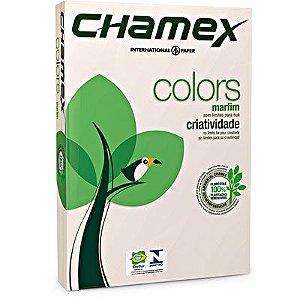 PAPEL A4 75G 210X297 C/500FL CHAMEX MARFIM